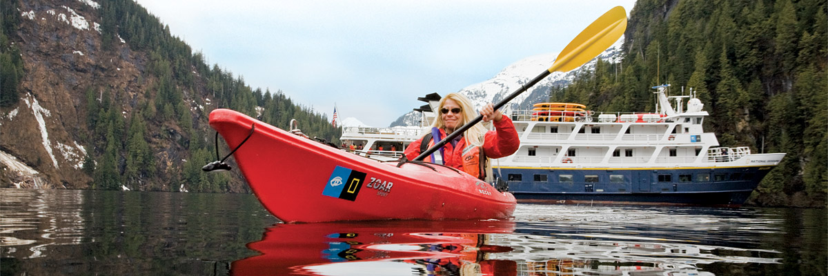 Alaska Expedition Cruise - What's it like?