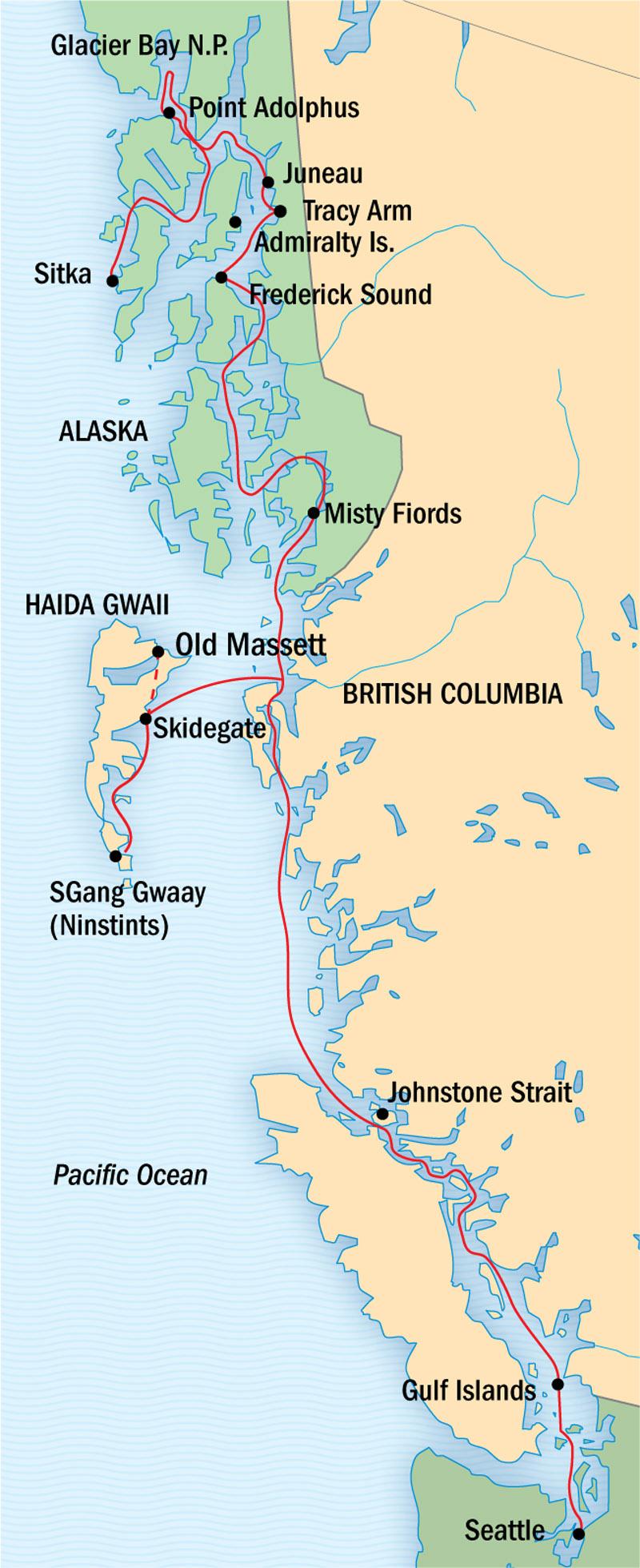 A Remarkable Journey To Alaska British Columbia Amp Haida